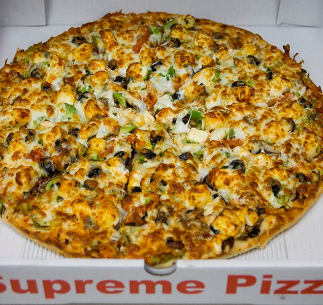 Our Paneer Pizza