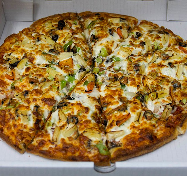 Our super Vegetarian Pizza